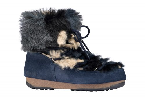 Tecnica Low Fur WE Moon Boots - Women's - blue camu, eu 42