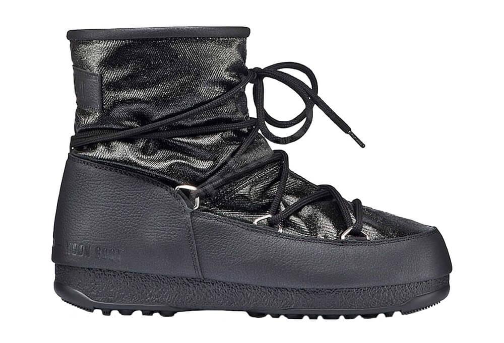 Tecnica Low Glitter Moon Boots - Women's - black, eu 42