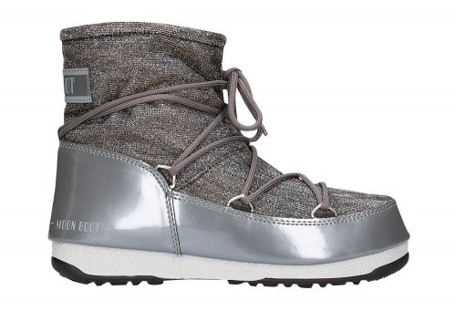 Tecnica Low Lurex Moon Boots - Women's - anthracite, eu 38