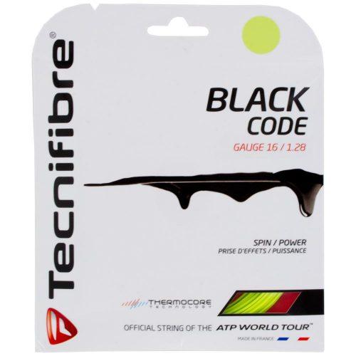 Tecnifibre Black Code Lime 1.28 16: Tecnifibre Tennis String Packages