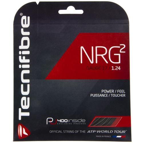 Tecnifibre NRG2 17 Black: Tecnifibre Tennis String Packages