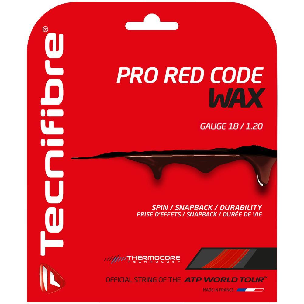 Tecnifibre Pro Red Code Wax 18 1.20: Tecnifibre Tennis String Packages