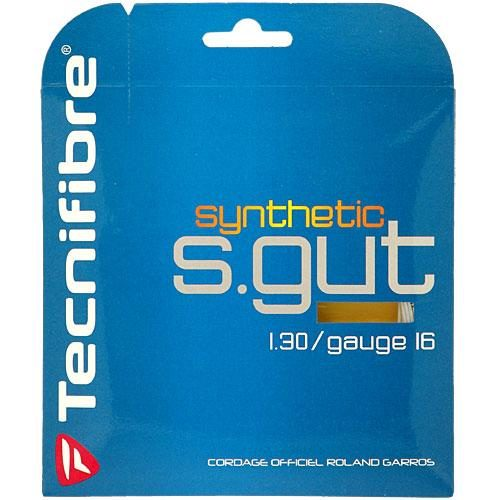 Tecnifibre Synthetic Gut 16: Tecnifibre Tennis String Packages