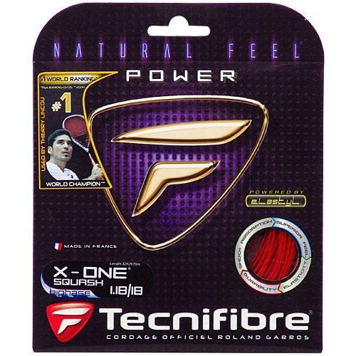 Tecnifibre X-One Biphase Squash: Tecnifibre Squash String Packages