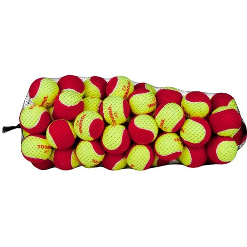 Tounrna Stage 3 Red 60 Pack: Tourna Tennis Balls