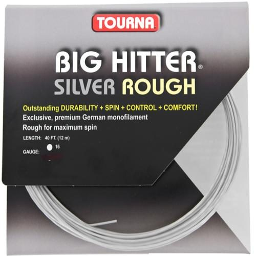 Tourna Big Hitter Silver Rough 16: Tourna Tennis String Packages