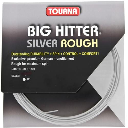 Tourna Big Hitter Silver Rough 17: Tourna Tennis String Packages