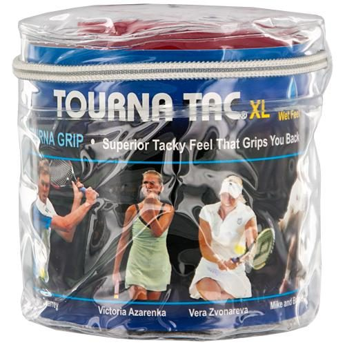 Tourna TAC Overgrips 30 Pack: Tourna Tennis Overgrips