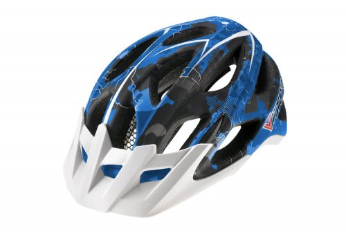 Vittoria DRT Helmet - blue/black camo, s/m