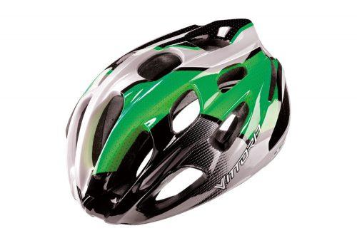 Vittoria V910 Helmet - green/black/white, s/m
