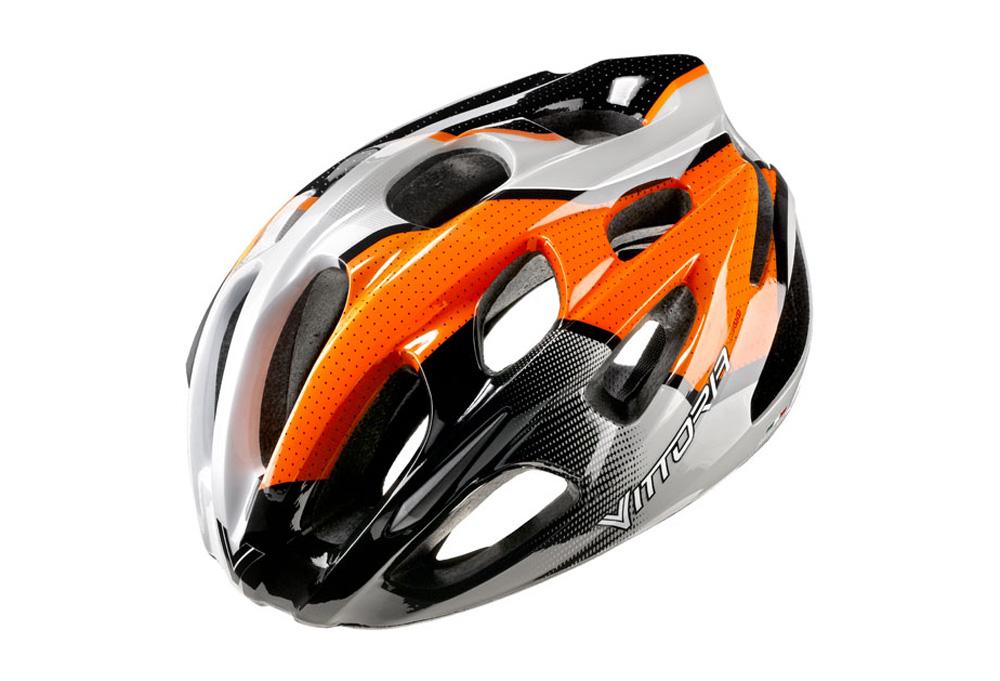 Vittoria V910 Helmet - orange, l