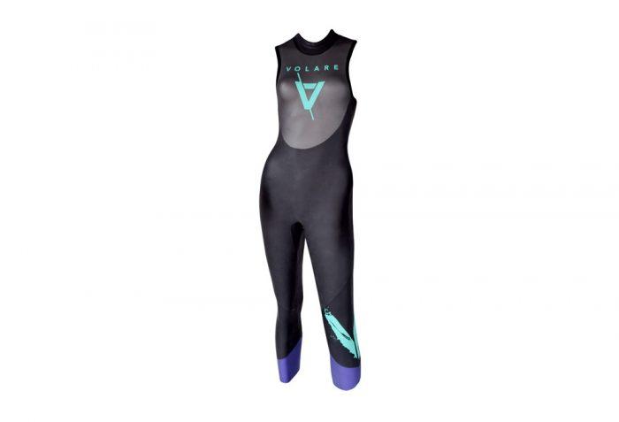 Volare V2 Sleeveless Triathlon Wetsuit - Women's - purple/black, s