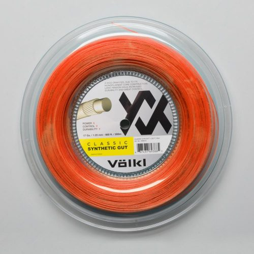 Volkl Classic Synthetic Gut 16 660' Reel: Volkl Tennis String Reels