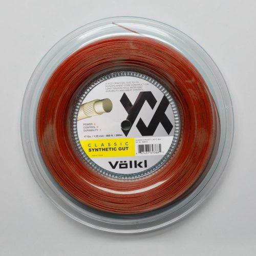 Volkl Classic Synthetic Gut 16 660' Reel: Volkl Tennis String Reels