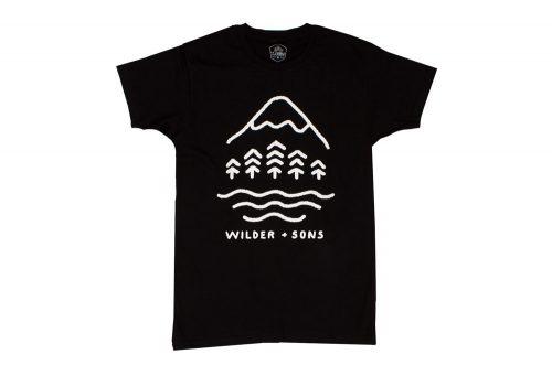 Wilder & Sons Simple Times Tee - Men's - black, large