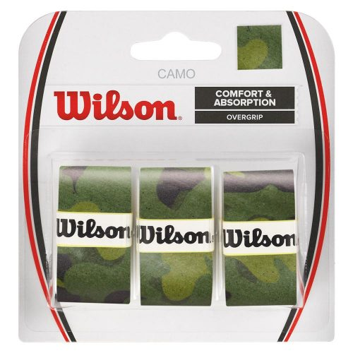 Wilson Camo Overgrip 3 Pack: Wilson Tennis Overgrips