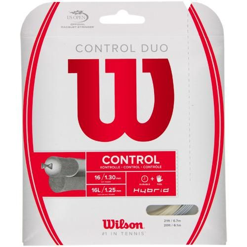 Wilson Control Duo: Wilson Tennis String Packages