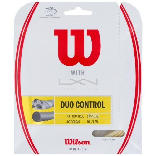 Wilson Duo Control 4GR 125 + NXT Control 16: Wilson Tennis String Packages