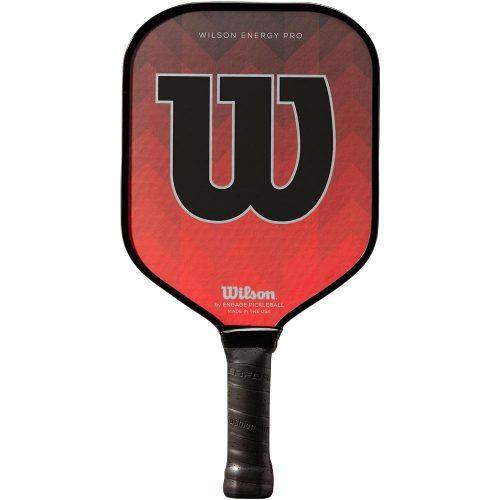 Wilson Energy Pro Red Paddle: Wilson Pickleball Paddles