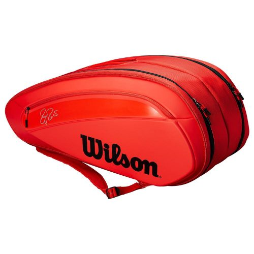 Wilson Federer DNA 12 Pack Infrared: Wilson Tennis Bags
