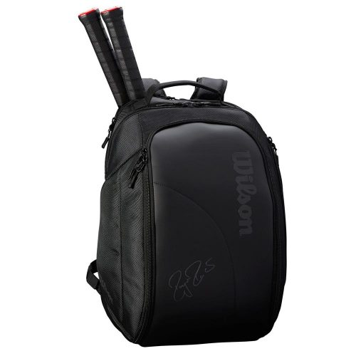 Wilson Federer DNA Backpack Black: Wilson Tennis Bags