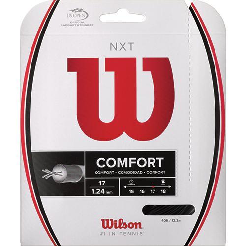 Wilson NXT 17 Black: Wilson Tennis String Packages