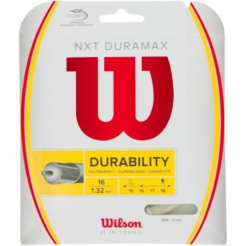 Wilson NXT Duramax 16: Wilson Tennis String Packages