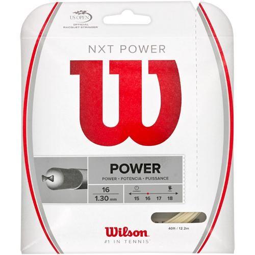 Wilson NXT Power 16: Wilson Tennis String Packages