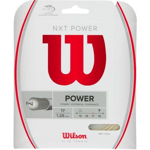 Wilson NXT Power 17: Wilson Tennis String Packages
