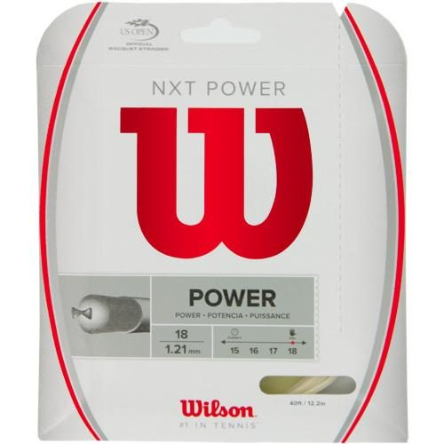 Wilson NXT Power 18: Wilson Tennis String Packages