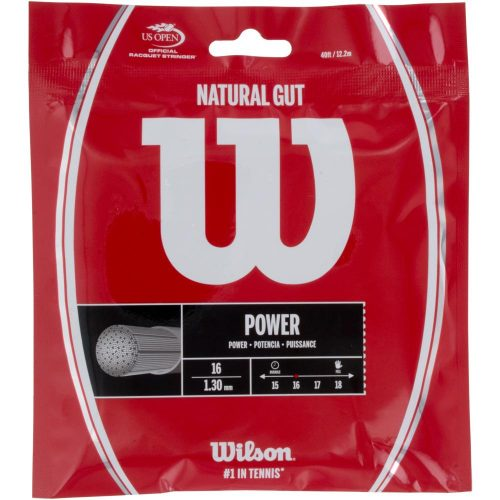 Wilson Natural Gut 16: Wilson Tennis String Packages