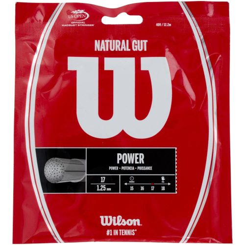 Wilson Natural Gut 17: Wilson Tennis String Packages