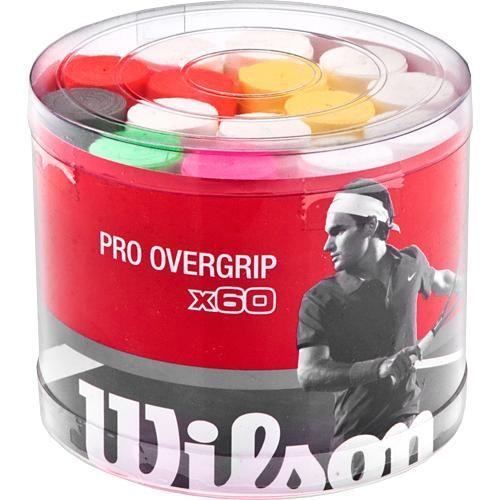 Wilson Pro Overgrip 60 Pack Bucket: Wilson Tennis Overgrips