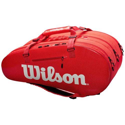Wilson Super Tour 3 Compartment Infrared: Wilson Tennis Bags