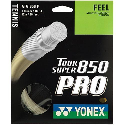 Yonex Tournament Super 850 Pro 16 1.30: Yonex Tennis String Packages