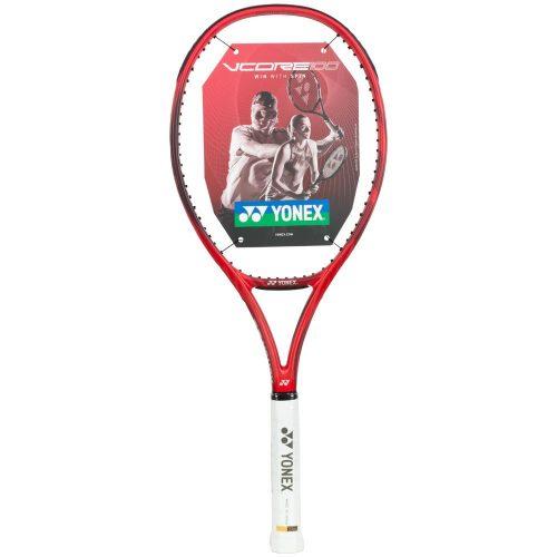 Yonex VCORE 100 (280) Flame Red: Yonex Tennis Racquets