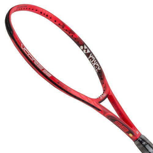 Yonex VCORE 98 (305) Flame Red: Yonex Tennis Racquets