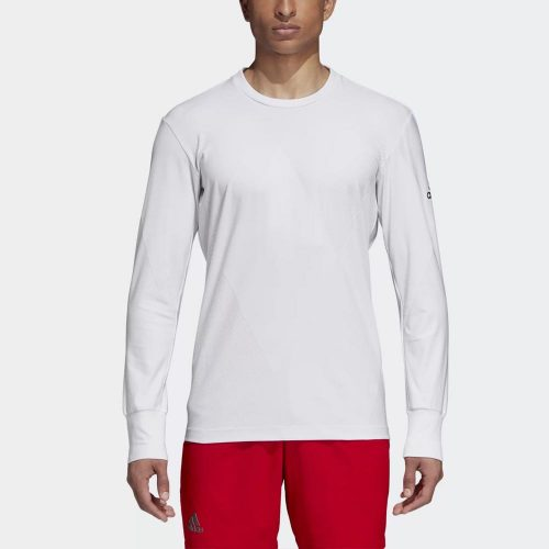 adidas Barricade US Open Long Sleeve Top: adidas Men's Tennis Apparel