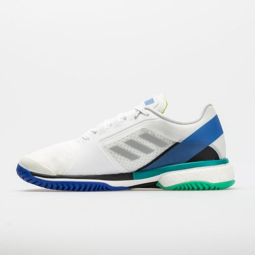adidas Stella Barricade Boost: adidas Women's Tennis Shoes White/Stone/Ray Blue