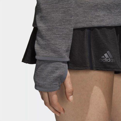 adidas Tennis Z.N.E Hoody: adidas Women's Tennis Apparel Zone Heather/Dark Grey