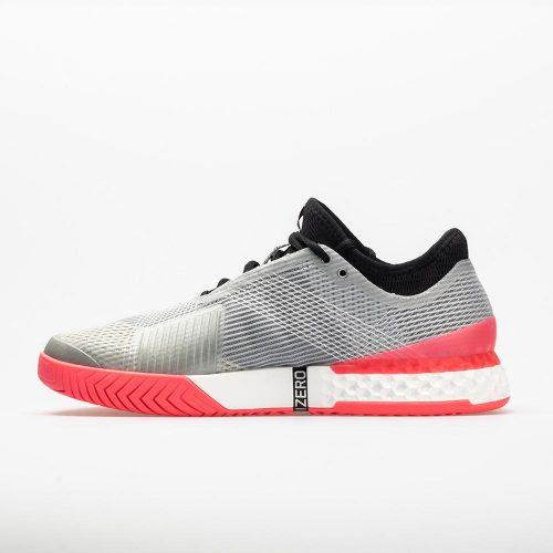 adidas adizero Ubersonic 3: adidas Men's Tennis Shoes Matte Silver/Black/Flash Red