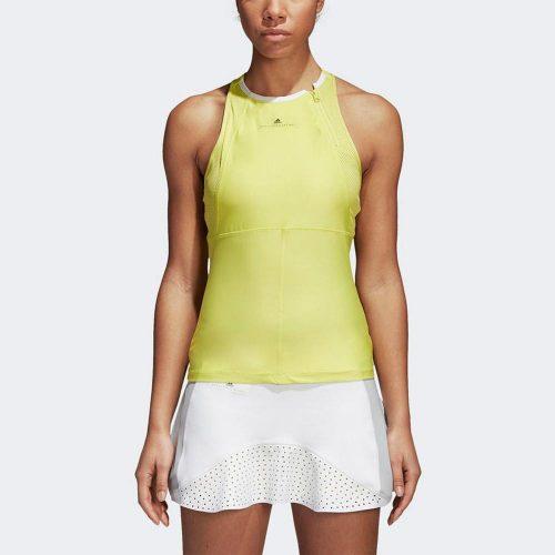 adidas by Stella McCartney Barricade Tank: adidas Women's Tennis Apparel Spring 2018