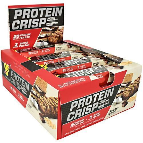 BSN 2760285 1.98 oz Protein Crisps S mores - 12 Per Bars
