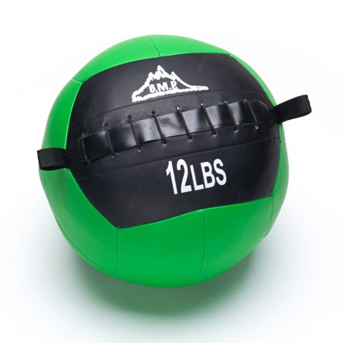 Black Mountain Products Slam Ball 12lbs Black Mountain Fitness Slam Ball for Strength & Endurance Training Green