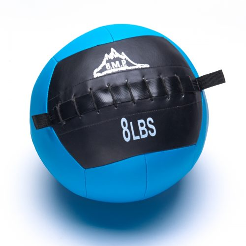 Black Mountain Products Slam Ball 8lbs Black Mountain Fitness Slam Ball for Strength & Endurance Training Blue