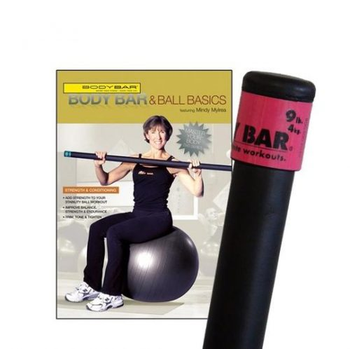 Body Bar K-PD-BB09PlusDVD-BBBB Body Bar & Ball Basics DVD
