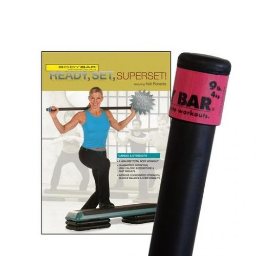 Body Bar K-PD-BB09PlusDVD-RSSS Ready Set Superset DVD