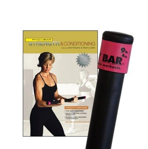 Body Bar K-PD-BB09PlusDVD-SC Strength & Conditioning DVD