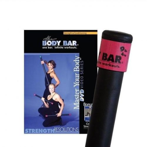 Body Bar K-PD-BB09PlusDVD-SR Strength Resolutions DVD
