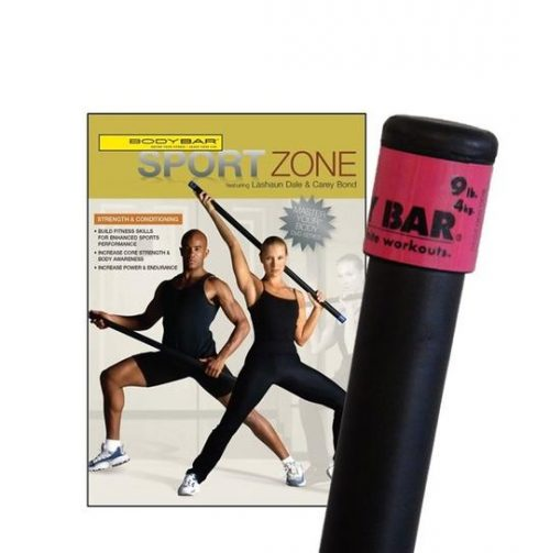 Body Bar K-PD-BB09PlusDVD-SZ Sport Zone DVD